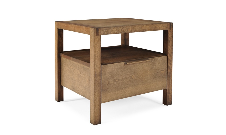 Commode en bois massif William_chevet